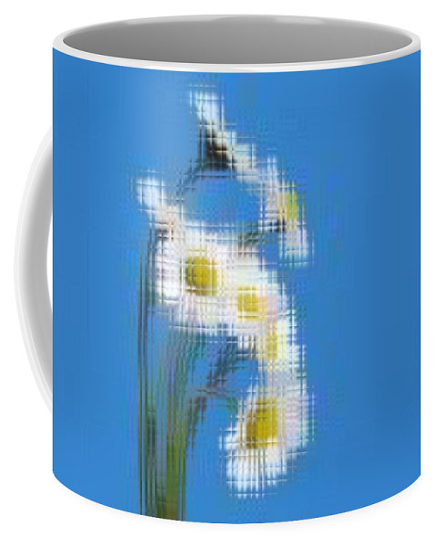 Flowers Coffee Mug featuring the photograph Little Daisies by Tim Allen