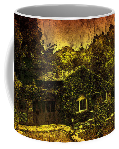Abstract Coffee Mug featuring the photograph Little House by Svetlana Sewell