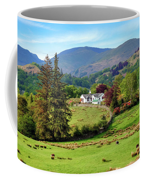 Little Langdale Coffee Mug featuring the photograph Little Langdale - Lake District by Joana Kruse