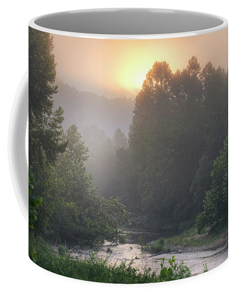 2016 Coffee Mug featuring the photograph Little Piney Creek by Robert Charity