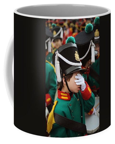 Spain Coffee Mug featuring the photograph Little Soldier I by Rafa Rivas