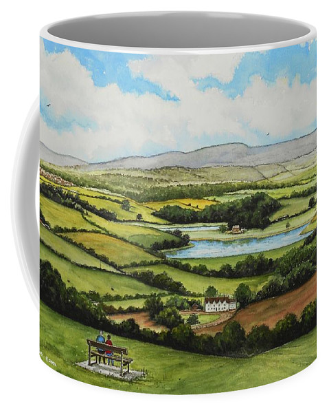 Water Colour Coffee Mug featuring the painting Little Switzaland by Andrew Read