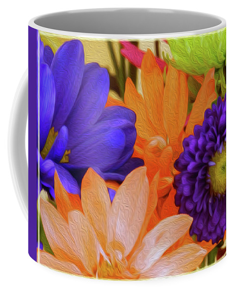 Floral Coffee Mug featuring the photograph Live This Full And Glorious Life by Tracie Fernandez