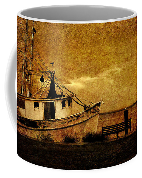 Nautical Coffee Mug featuring the photograph Living In The Past by Susanne Van Hulst