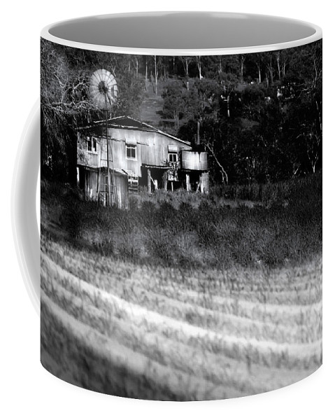 Landscapes Coffee Mug featuring the photograph Living On The Land by Holly Kempe