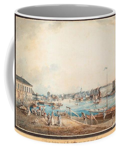 Ohan Fredrik Martin Coffee Mug featuring the painting Lngholmen by MotionAge Designs