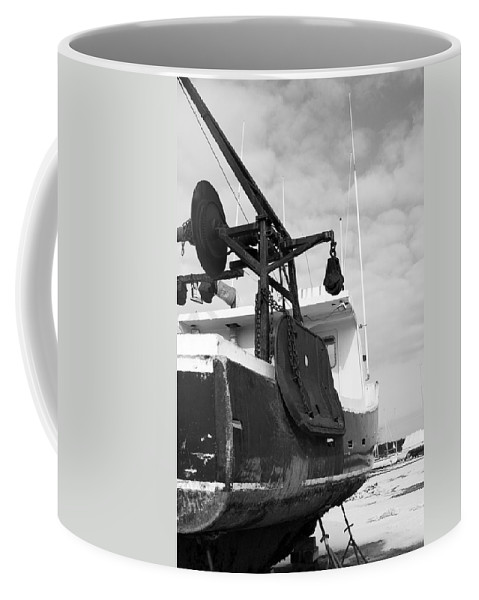 Boat Coffee Mug featuring the photograph Lobster Boat Near Rye Harbor In New England by David Thompson
