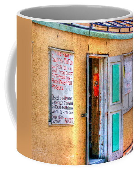 Store Coffee Mug featuring the photograph Local Store by Debbi Granruth