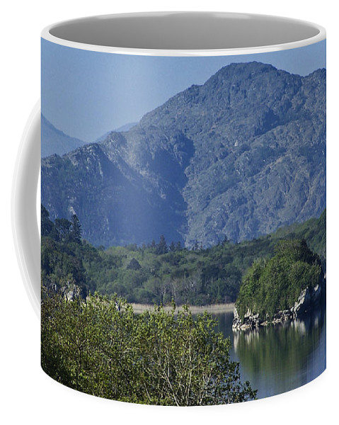 Irish Coffee Mug featuring the photograph Loch Leanne Killarney Ireland by Teresa Mucha