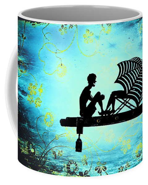 Beach Coffee Mug featuring the photograph Locks Of Love by Evelina Kremsdorf