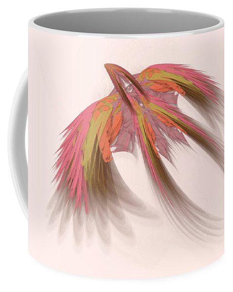 Loganlea Coffee Mug featuring the digital art Loganlea by Warren Lynn