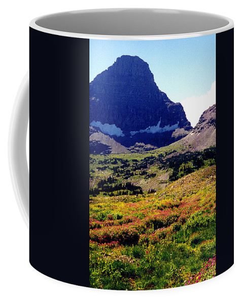 Glacier National Park Coffee Mug featuring the photograph Logans Pass In Glacier National Park by Nancy Mueller