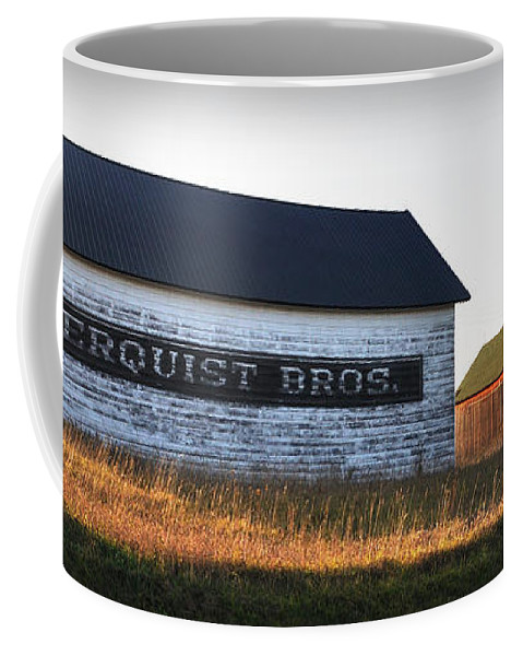 Fall Coffee Mug featuring the photograph Logerquist Bros. by Tim Nyberg