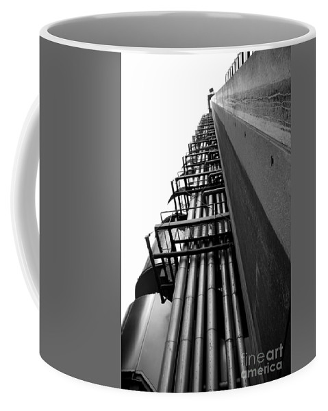 Architecture Coffee Mug featuring the photograph London Architecture by Deborah Benbrook