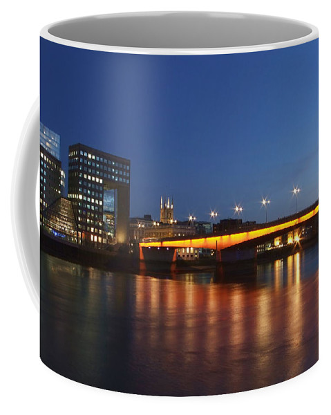 London Bridge Coffee Mug featuring the photograph London Bridge by Andrew Ford