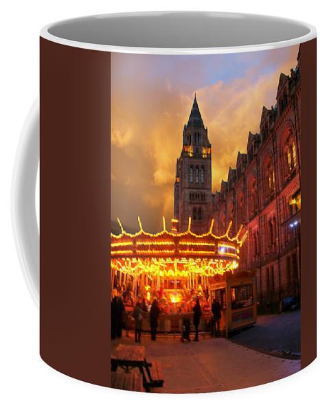 Coffee Mug featuring the photograph London Museum At Night by Munir Alawi