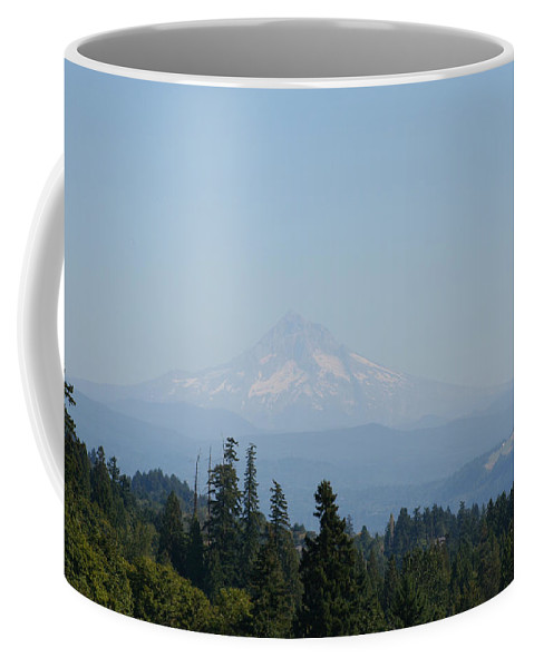 Mountain Coffee Mug featuring the photograph Lone Mountain by Pat Turner