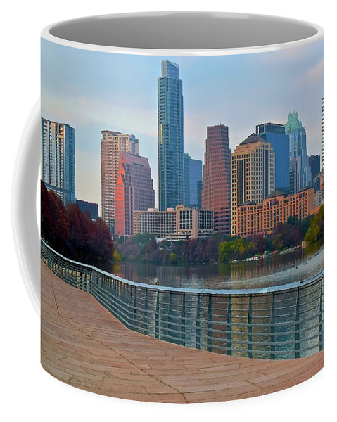 Austin Coffee Mug featuring the photograph Lone Star Capitol by Frozen in Time Fine Art Photography
