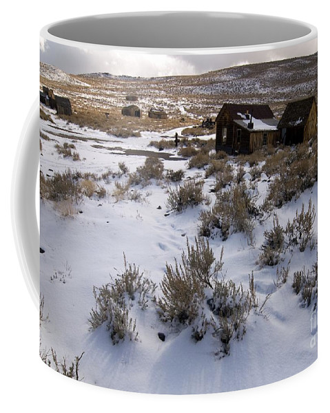 California History Coffee Mug featuring the photograph Lonely Bodie by Norman Andrus