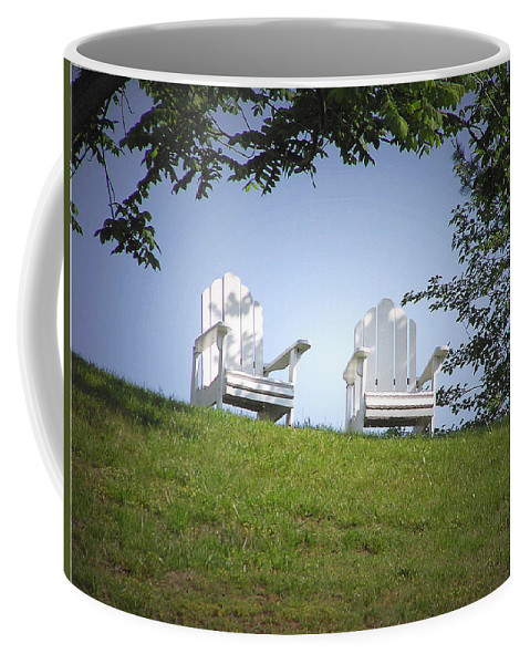 2d Coffee Mug featuring the photograph Lonely Companions by Brian Wallace