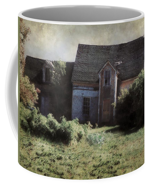 Landscape Coffee Mug featuring the painting Long Ago And Far Away by RC deWinter