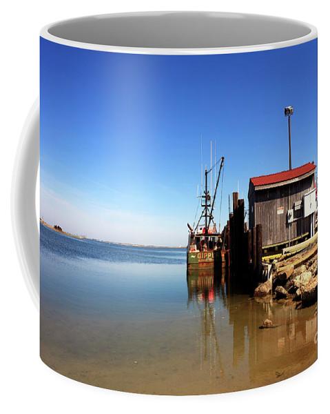 Long Beach Island Bay Coffee Mug featuring the photograph Long Beach Island Bay by John Rizzuto