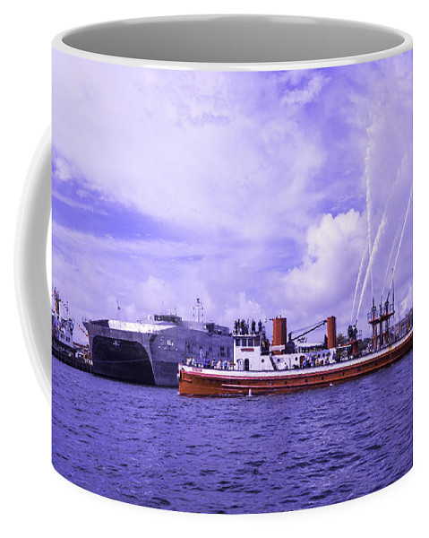 And Coffee Mug featuring the photograph Long On Heritage Deep In Pride by Joe Geraci