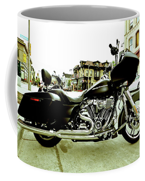 Coffee Mug featuring the photograph Long Pipes by Angel Moran