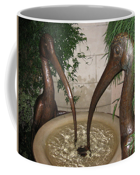 Longview Gardens Coffee Mug featuring the photograph Longview Gardens by Tommy Anderson