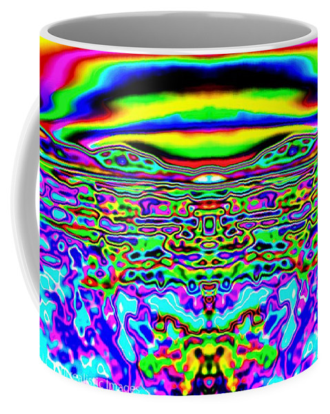 Fine Art Photography Coffee Mug featuring the photograph Look At You, Look At Me by Nicholas Costanzo