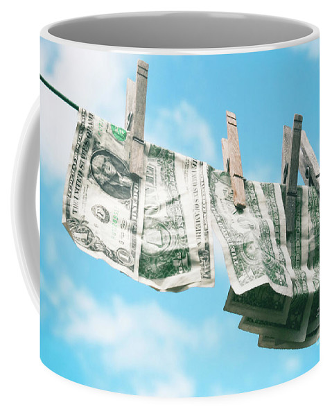 Look How Much A Dollar Buys Coffee Mug featuring the photograph Look How Much A Dollar Buys by Sharon Mau