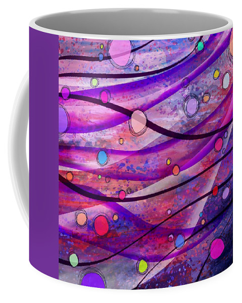 Abstract Coffee Mug featuring the digital art look Mom no hands by Rachel Christine Nowicki