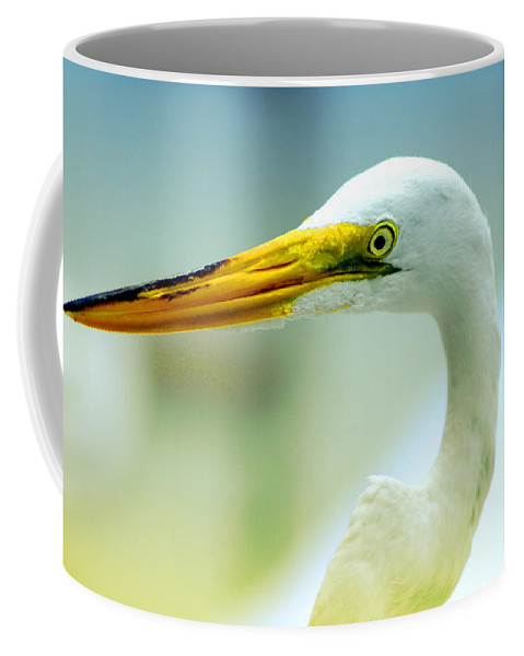 Photography Coffee Mug featuring the photograph Looking For The Catch by Susanne Van Hulst