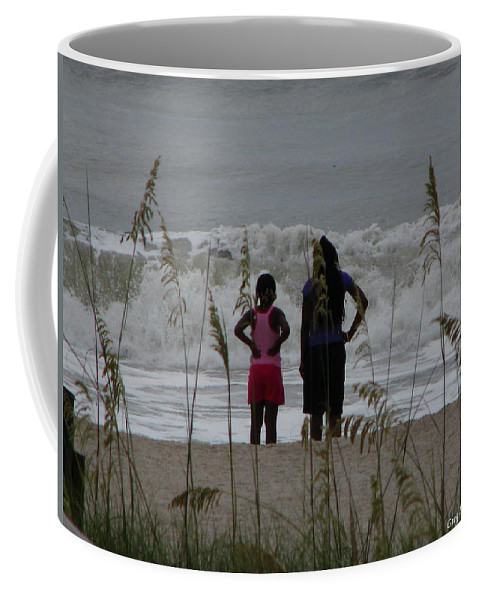 Patzer Coffee Mug featuring the photograph Looking by Greg Patzer