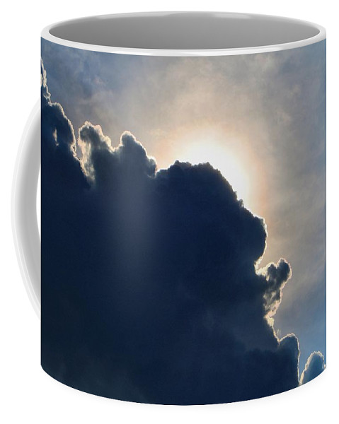 Cumulus Coffee Mug featuring the photograph Looming Cumulus by Kathryn Meyer