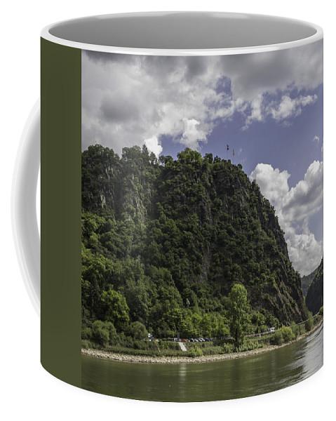Loreley Coffee Mug featuring the photograph Loreley Rock 10 by Teresa Mucha