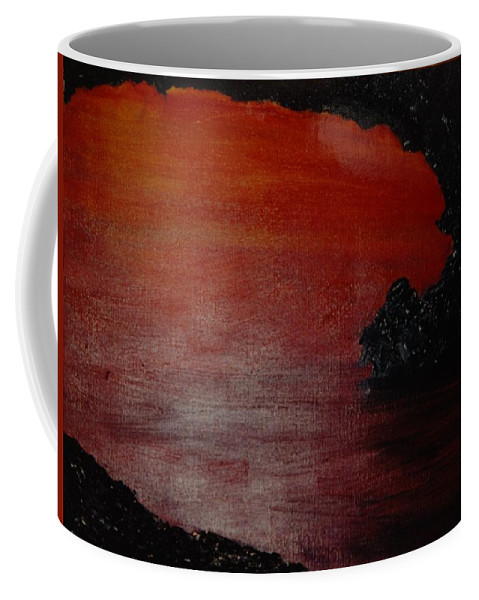 Painting Coffee Mug featuring the photograph Lori's World by Rob Hans