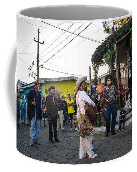 Historiantes Coffee Mug featuring the photograph Los Historiantes De Apaneca by Totto Ponce
