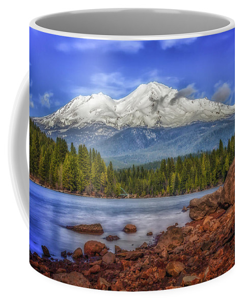Bridge Coffee Mug featuring the photograph Lost In The Moment by Marnie Patchett