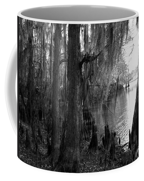 Caddo Coffee Mug featuring the photograph Lost In Time by Betty Northcutt