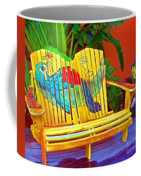 Tropical Coffee Mug featuring the photograph Lost Shaker Of Salt 2 by Debbi Granruth