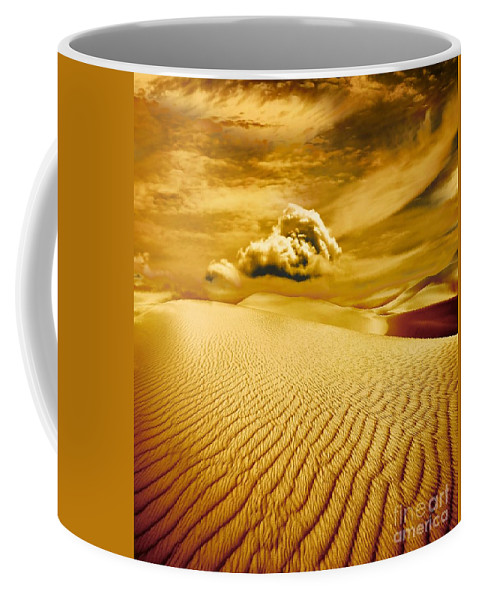 Desert Coffee Mug featuring the photograph Lost Worlds by Jacky Gerritsen