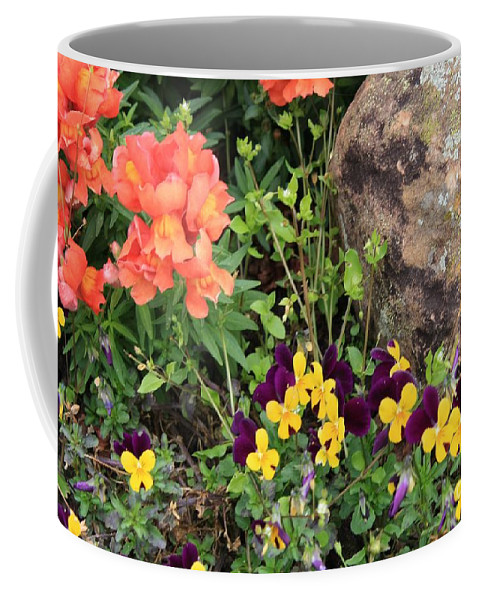 Flower Coffee Mug featuring the photograph Lots Of Color by John W Smith III