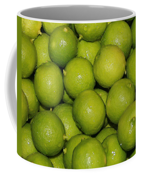Limes Coffee Mug featuring the photograph Lots Of Limes by Marna Edwards Flavell