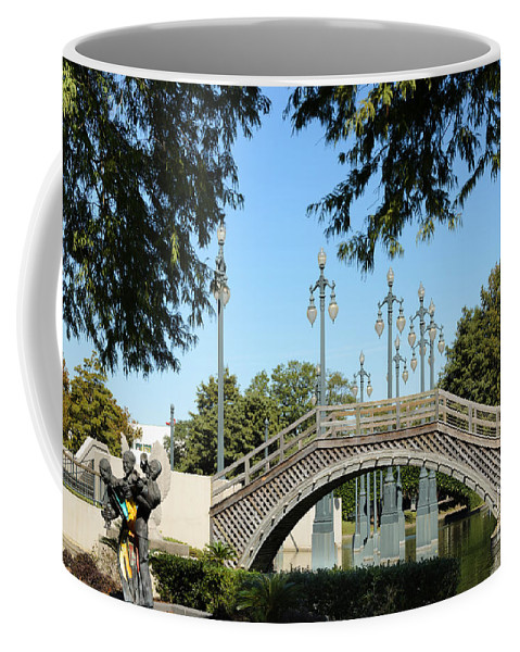 Louis Armstrong Coffee Mug featuring the photograph Louis Armstrong Park - New Orleans by Debra Martz