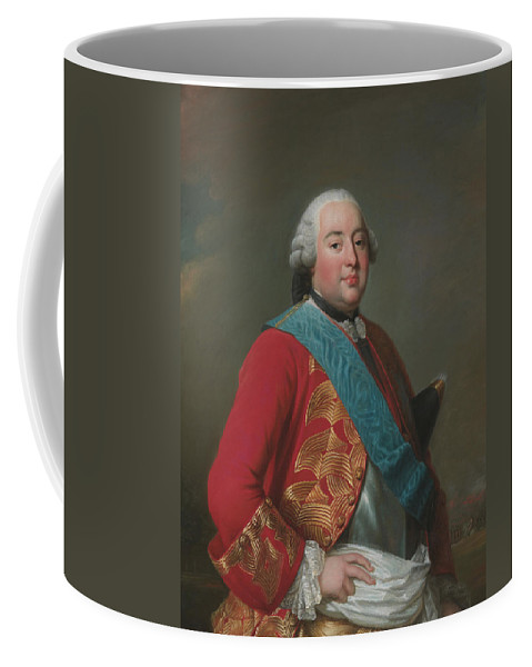Swedish Artist Coffee Mug featuring the painting Louis Philippe D'orleans As Duke Of Orleans by Alexander Roslin