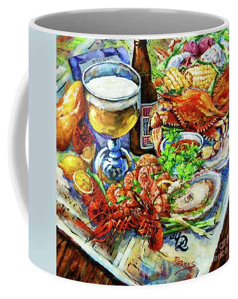 New Orleans Coffee Mug featuring the painting Louisiana 4 Seasons by Dianne Parks