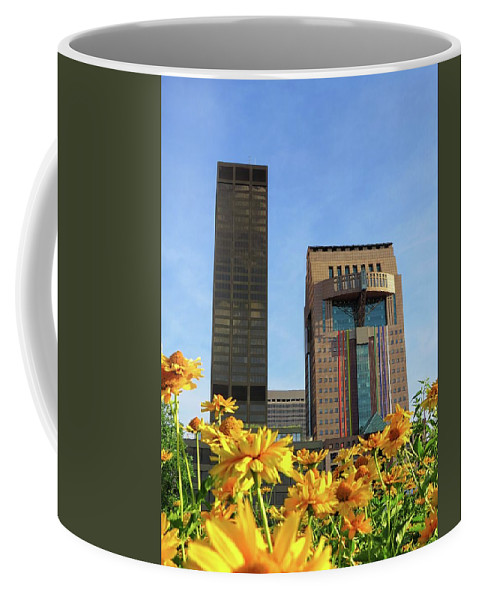 Louisville Coffee Mug featuring the photograph Louisville Floral by Connor Beekman