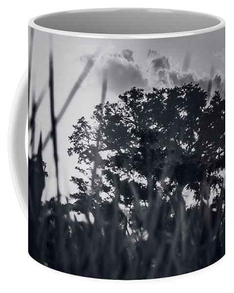 Black And White Coffee Mug featuring the photograph Lourdes Colon El Salvador 2 by Totto Ponce