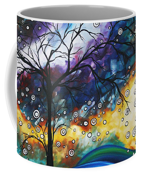 Wall Coffee Mug featuring the painting Love And Laughter By Madart by Megan Duncanson